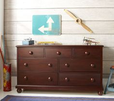 Catalina Extra-Wide Dresser | Pottery Barn Kids $750