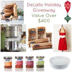 Link over to enter @DeLallo Foods Holiday #Giveaway - Celebrate the #SpiritofNatale this #holiday season!