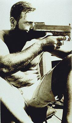 who knows?   | Hemingway | writer | novelist | author | artist | writing | shooting | shot | gun