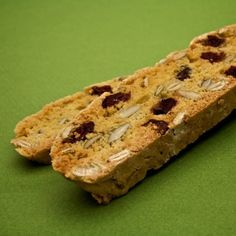 "Say ""Happy Holidays"" with a cranberry-accented biscotti. Holiday Cookie Recipes, Cookie Desserts, Holiday Cookies, Cookie Bars, Cookie Ideas, Biscotti Recipe, Fall Treats, Bread Baking, Happy Holidays"