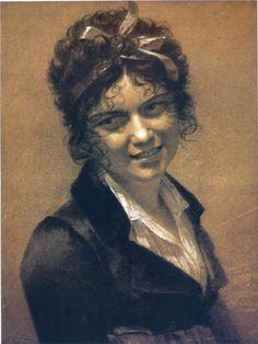 Portrait of Constance Mayer, the artist's mistress, 1804 Pierre-Paul Prud'hon