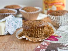 Grain-Free Pumpkin Muffins (sub out the starch w protein powder )