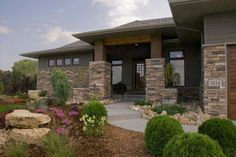 Contem-Prairie - contemporary - exterior - minneapolis - Jim Kuiken Design