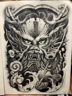 Dragon Tattoo Colour, Color Tattoo, Tattoo Art, Full Back Tattoos, Japan Tattoo, Photo Work, Japanese Dragon, Snake Tattoo, Friend Photos
