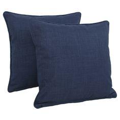 Wayfair - Solid Indoor/Outdoor Throw Pillow