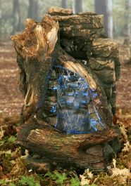 Mountain Springs Water Feature with Lights by Ambienté Mountain Spring Water, Zen, Easter Garden, Blue Filter, Backyard Water Feature, Rock Wall, Rock Pools, White Lead, Make Design