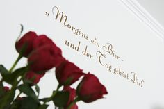 Themenzimmer - Spruch Place Cards, Place Card Holders, Cordial