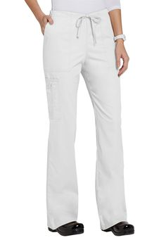 Cherokee Workwear Core Stretch cargo scrub pants | Scrubs and Beyond Core Stretches, Scrub Life, Scrub Pants, Scrub Tops, V Neck Tops, Cherokee, Scrubs, Work Wear, Shop Now