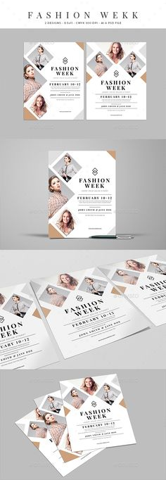 #Clean #Fashion #Week Event Flyer - Events Flyers