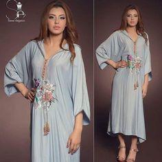 "51 Likes, 1 Comments - لالة رودانة.lalaroudana (@moroccan.glamour) on Instagram: ""#jellaba mood Ramadan on the way  Sanae elegance creation. #traditions #jellaba_marocaine…"""