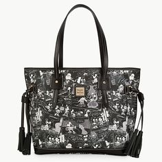 Mickey Mouse Comics Tassel Bag by Dooney & Bourke LOVE!!!