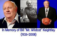 Mr. Wildcat. A missing fixture of UK basketball. RIP