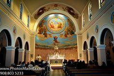 Wedding Ceremony Photo in Church, Jersey City - Wedding Photos by PhotosMadeEz