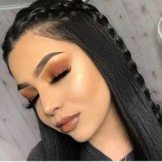 Favorite Beauty Eye Makeup Looks Ideas 16 Glam Makeup, Baddie Makeup, Cute Makeup, Pretty Makeup, Beauty Makeup, Hair Makeup, Hair Beauty, Blonde Makeup, Awesome Makeup