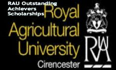 RAU Outstanding Achievers Scholarships for UK & Overseas Students in UK, and applications are submitted till 31st July 2014. Royal Agricultural University offers outstanding achievers scholarships for UK and international students. - See more at: http://www.scholarshipsbar.com/rau-outstanding-achievers-scholarships.html#sthash.7Icc9jth.dpuf