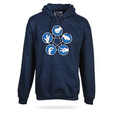 Rock Paper Scissors Lizard Spock Hoodie from The Big Bang Theory #tbbt