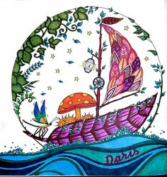 Enchanted Forest Boat