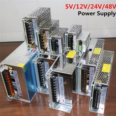 Трансформатора питания AC100 240V для DC5V 12 В 24 В 48 В 1A 2а , 3а 4A 5A 6A 8A 10а 15а 20а 30а 40а 50а 60A из светодиодов прокладки адаптер купить на AliExpress