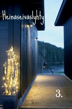 Ideas about outdoor lights. www.vilikkala.fi #Kotisäkki