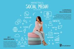 #socialmediamarketing #socialmedia #facebook #twitter #marketingdigital #design #inkscape #linux Social Media Marketing, Digital Marketing, Linux, Branding, Facebook, Twitter, Design, Socialism, Design Comics