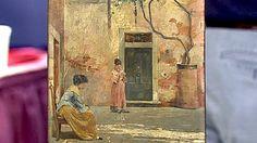 1885 Oliver Dennett Grover Oil  $8,000 Auction  –  $12,000 Auction