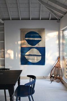 From the Kitka blog. Tapestry by Sasha Hayman