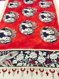 Manufacturers/Wholesalers/Suppliers & Distributors of Authentic and Real… Hand Embroidery, Embroidery Designs, Bull Elephant, Kalamkari Painting, Indian Folk Art, Saree Border, Sea Glass Jewelry, Fabric Painting, Jewelry Making Supplies