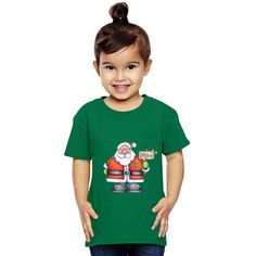 Believe In Santa Claus Toddler T-shirt