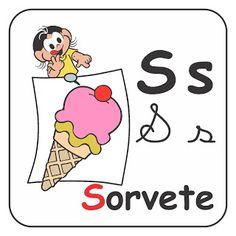 Alfabetizando com Mônica e Turma: Alfabeto