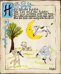 15 Best Nursery Rhyme Art Images Rhymes