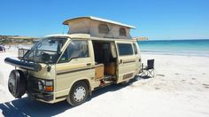 1984 Toyota Hiace Pop-Top campervan - I want to go here with mine!