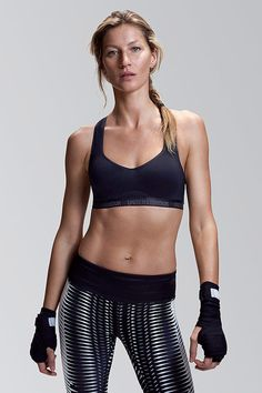 "Gisele Bundchen joins Under Armour's ""I Will What I Want"" campaign, showing off her killer abs, and joining alongside Lindsey Vonn and Misty Copeland in the empowering campaign.   - HarpersBAZAAR.com"