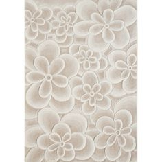 This Alliyah Handmade Bleach Tan Flowers 100-percent New Zealand Blend Wool  Rug is made fa51981ca2b
