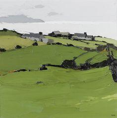 Sir Kyffin Williams, R.A. (British, 1918-2006) Rhoscryman 61 x 61 cm. (24 x 24 in.)