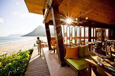 By the Beach Restaurant at Six Senses Con Dao, Vietnam