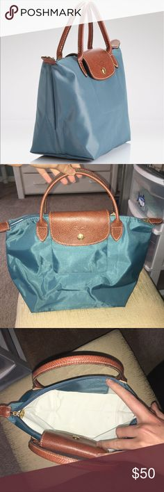 Longchamp Le Pliage Mini Never been used, no flaws. Smallest size bag. Can fold up for travel. Bags Totes
