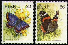 The Butterfly WebSite Picture Gallery - Irish Butterfly Stamps.