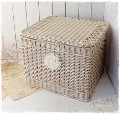 """Короб плетеный """" Vintage dream"""" – купить в интернет-магазине на Ярмарке Мастеров с доставкой"""