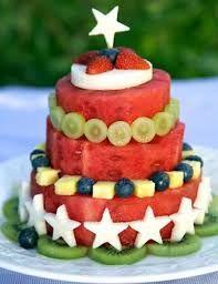Resultado de imagem para fruit cake smash