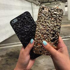 Titan Black x Gold Elemental Case for iPhone 6 & iPhone 6 Plus