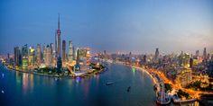 Shanghai China 8K Ultra HD Wallpaper 7680x4320