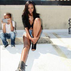 #ModelMode #AshleyMarie #RoofTop #Model #WomensFashion