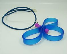 Butterfly Silicone Necklace by MossTLV on Etsy, $35.00