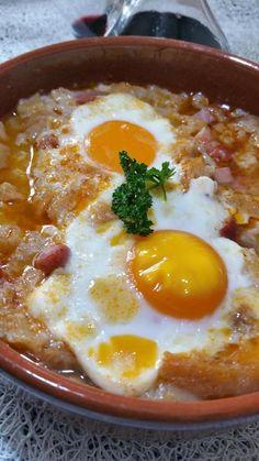 soupe à l'ail Castillane - sopa de ajo castellana - toc-cuisine.fr