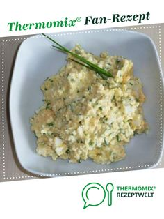 Ein Thermomix ® Rezept aus der Kategorie Saucen… Egg spread by Ines Wepunkt. A Thermomix ® recipe from the Sauces / Dips / Spreads category www.de, the Thermomix® Community. Healthy Nutrition, Healthy Drinks, Valeur Nutritive, Green Lentils, Food And Drink, Cooking Recipes, Snacks, Dishes, Ethnic Recipes