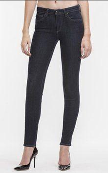 #Agave #Denim Sretch Skinny Jeans-Dark Rinse #MADEINUSA #VENUS #VENUSCUT
