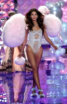 Pin for Later: See Every Jaw-Dropping Look From the Victoria's Secret Fashion Show Victoria's Secret Fashion Show 2014 Lily Aldridge