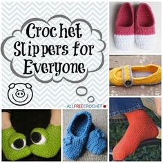 Free Crochet Sock and Slipper Patterns | AllFreeCrochet.com