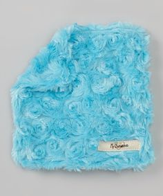 Take a look at this Luxe Turquoise Snail Plush Crinkleez Lovey on zulily today!