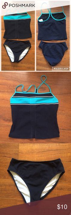 🎄BOGO 50% OFF Nautica Tankini Set Gorgeous Tankini set by Nautica. 90% nylon 10% Lycra spandex. 📫 I usually ship within 2 business days (I will notify you of any delays on my end) 🏝This item will be shipped from Florida and can only be bundled with other items shipping from Florida. Please check before purchasing. 🚫TRADES 🚫OUTSIDE TRANSACTIONS ❤️OFFERS WELCOME❤️ SWI0007 Nautica Swim Bikinis